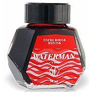 Vidro de Tinta Waterman Vermelho S0110730