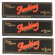 Seda Smoking Preto Medium c/ 50 Folhas (3 livros)