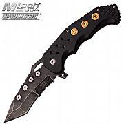Canivete Dobrável Master Preto  MU-A034BK