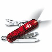 Canivete Victorinox Signature Lite 7 Funções Vermelho Translúcido...
