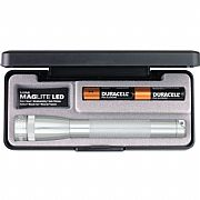 Lanterna Mini Maglite Prata com LED SP22107