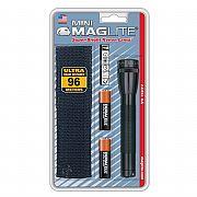 Lanterna Mini Maglite Preta com Lâmpada Xenon M2A01H