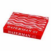 Cartucho Waterman Standard Vermelho com 8 Peças S0110880