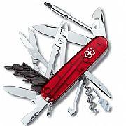 Canivete Victorinox Cyber Tool 34 Funções Vermelho Translúcido...