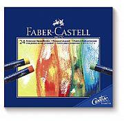 Pastel Oleoso Faber-Castell Creative Studio 24 cores 127024