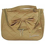 Necessaire c/ Alça 14cm Dourada Jacki Design JBD22181