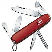 Canivete Victorinox Tinker Pequeno 12 Funções Vermelho 0.4603