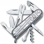 Canivete Victorinox Climber 14 Funções Prata Translúcido 1.3703.T7