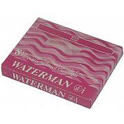 Cartucho Waterman Standard Cor de Rosa com 8 peças S0110870