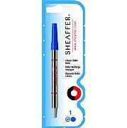 Carga Sheaffer Roller Ball Azul Ponta Média 97325