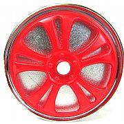 Desfiador de Fumo Spinner Wheel Vermelho
