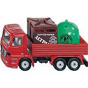 Miniatura Caminhão de Reciclagem Siku 0828