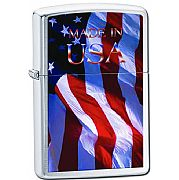 Isqueiro Zippo Made in USA Flag 24797