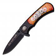 Canivete Dobrável Master - Dead Man's Hand - MU-A012DM