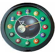 Relógio Bilhar Bola Oito Verde 3198-920