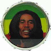 """Desfiador de Fumo Drum Set """"Bob Marley 1"""""""
